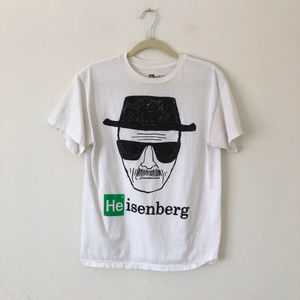 Heisenberg Breaking Bad White T Shirt